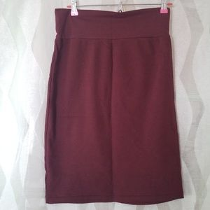 American Apparel Pencil Skirt
